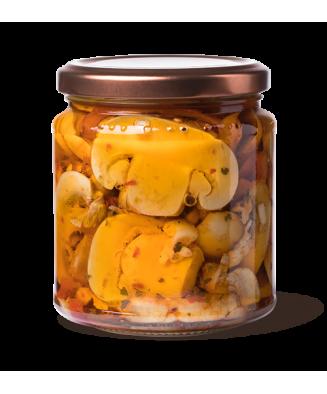 Funghi alla contadina piccanti